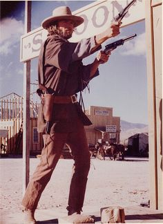 Clint in The Outlaw Josie Wales; classic cowboy Clint!