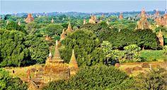 Bagan la vallée des milliers de Temples et Pagodes Myanmar 2014