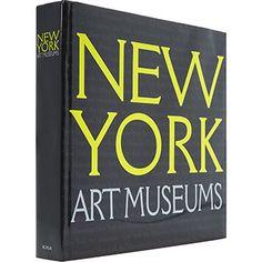 New York Art Museums Book