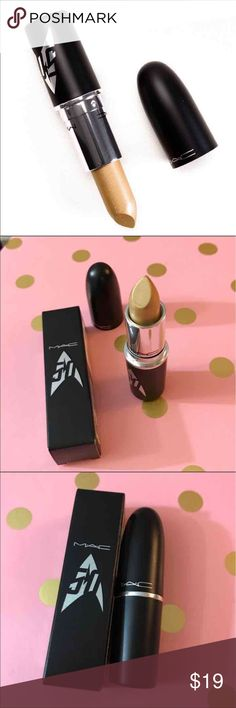 MAC Star Trek Limited The Enemy Within Lipstick MAC The Enemy Within Lipstick (0.10 oz.) brand new in box. From the Star Trek collection. Ships today. MAC Cosmetics Makeup Lipstick
