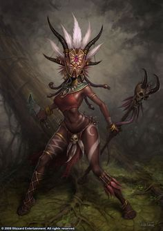 Female Witch Doctor Diablo 3