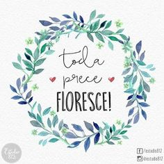 Flora Design, Desiderata, Mandala, Typography, Place Card Holders, Watercolor, Tags, Instagram Posts, Painting