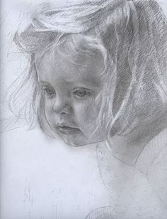 Pencil Drawings portrait by Tandy Fugate - I'm fascinated how someone can capture the expressions on a face Portrait Au Crayon, Pencil Portrait, Portrait Art, Portraits, Drawing Sketches, Pencil Drawings, Art Drawings, Pencil Art, Charcoal Drawings