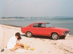 Opel Period Photos of Summer - Opel Manta A, 1970-75. Image: General Motors