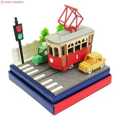 [Miniatuart] Miniatuart Mini : Car and tram (Assemble kit) (Model Train) Item picture6