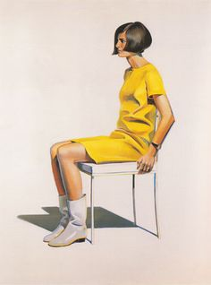 Girl in White Boots Painting By Wayne Thiebaud - Reproduction Gallery Bay Area Figurative Movement, Pop Art Movement, Edward Hopper, Wayne Thiebaud Paintings, Nouveau Realisme, Mondrian Art, Principles Of Art, Joan Mitchell, Oil Painting Reproductions