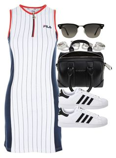 A fashion look from July 2017 by vany-alvarado featuring Topshop, adidas Originals, Givenchy and Ray-Ban Summer Swag Outfits, Sporty Outfits, Korean Outfits, Cute Casual Outfits, Fashion Outfits, Womens Fashion, Mode Ulzzang, Preppy Style, My Style