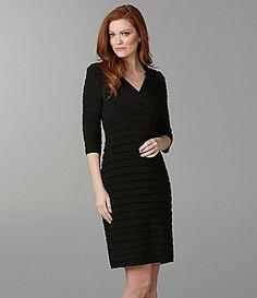 7ba0fe3a851 Adrianna Papell Shutter Pleat Dress  Dillards