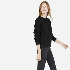 Everlane | The Chunky Wool Wide Crew Neck
