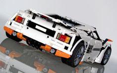 LEGO Set MOC-2811 Predator Supercar