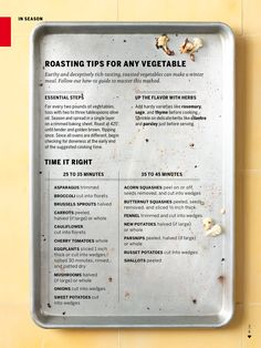 This is a MUST PIN for the perfect guide to Roasting Vegetables! #Cleanse #Diet #Roasted