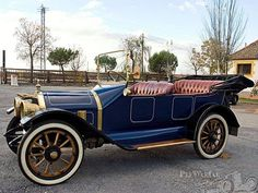 1914 Stanley Steamer Model 607 Touring