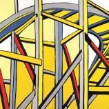 Jasper Knight, Curb your enthusiasm 2012 enamel and acrylic on. 200 x 300 cm Curb Your Enthusiasm, Landscape Paintings, Jasper, Knight, Enamel, Street, Decor, Art, Art Background