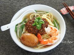 shrimp danzai noodles | Taiwanese Food  #recipe in Chinese