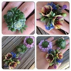 Fresh Flower Rings