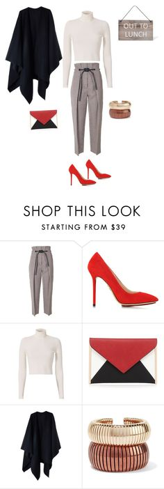 """""""Out"""" by francy78 on Polyvore featuring moda, 3.1 Phillip Lim, Charlotte Olympia, A.L.C., Red Herring, Acne Studios, Rosantica e Garden Trading"""
