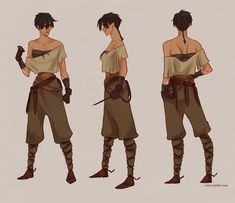 Shila by *viria13 on deviantART  She kind of reminds me of jim hawkins...I really like this one