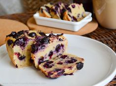 Protein Treats By Nicolette : Blueberry Cheesecake Protein Bread... I will use coconut flour in place of wheat flour
