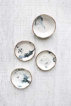 Handmade Ceramic Dishes | clearblurdesign on Etsy