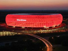 Allianz Arena - Munich, Germany    (Home of Munich's soccer teams)