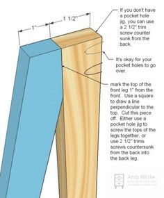 Ana White | Build a Painter's Ladder Shelf | Free and Easy DIY Project and Furniture Plans