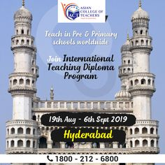 Give your career the right direction with International Teaching Diploma Program ( along with Don't miss this chance to become a in from Aug - Sept For more information visit us at or call us on 9073678986 to book your seats now. International Teaching, Pre Primary School, Best Teacher, Hyderabad, Cambridge, Acting, How To Become, Career, Campaign