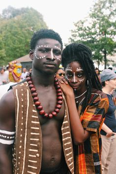 AfroPunk Fest is coming to the ATL. Are you ready? African Tribal Makeup, African Beauty, Tribal Face, Black Love, Black Is Beautiful, African Wear, African Fashion, Pintura Tribal, Black Girl Magic