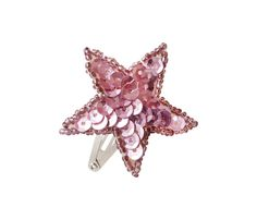 Adorable sequin shiny star shaped #hairclips !  Approximately 4 cm diameter and sewn on 3 cm snap clips.