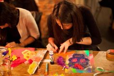 Make Good: Day of the Dead Skulls and Papel Picado @ The Book Club, 100 Leonard Street, London EC2A 4RH, United Kingdom on 3rd November 2014 at 7:00 pm - 9:00 pm.  Celebrate the Mexican festival, Day of the Dead in style with Good Empire Events!  Get your very own Perspex laser-cut skull to decorate. Add acrylic shapes, glitter, paint and colours and then turn it into a necklace, badge or keyring!  Category: Arts.  Price:  Advance: £12.