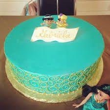 Image result for aladdin jasmine cake