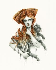 Courtney Brims - The Drawing Arm :: Illustration Agency