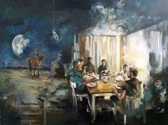 "Saatchi Art Artist Magdalena Lamri; Painting, ""The way it goes"" #art"