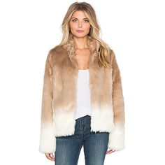 Sanctuary Faux Fur Chubby Funnel Neck Bomber Jackets & Coats ($159) ❤ liked on Polyvore featuring outerwear, coats, coats & jackets, bomber coat, flight jacket, funnel coat, faux fur bomber jacket and blouson jacket