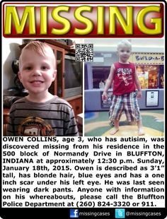 3 yr. Old MISSING, LOOK PLEASE