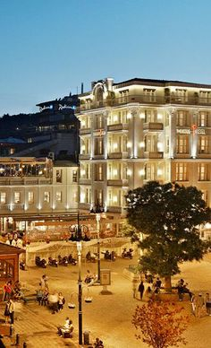 The House Hotel Bosphorus, a fashionable and opulent retreat in Istanbul, Turkey Hotels In Turkey, Istanbul Turkey, Paris Skyline, Environment, Mansions, Architecture, House Styles, Travel, Arquitetura
