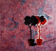 """The tree"" acrylic on board"