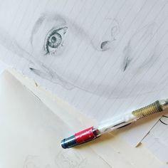 #drawing #draw #sketch #disegno #bozza #schizzo #reality #dalvero #pencil #chiaroscuro #blackandwhite #facedrawing #eyes #ojos #onpaper #dibujo #blancoynegro #lápiz #dibujo #lightandshade #boceto