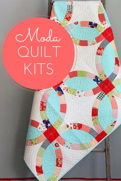 Create beautiful, vibrant quilts with Craftsy's selection of Moda quilt kits. Every quilt kit includes the pattern and the fabric you need to complete your quilt from start to finish. With over 60 unique Moda kits to choose from, it's hard to pick a favorite!
