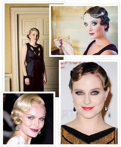 """Get the finger-waves down.   How To Throw The """"Great Gatsby"""" Wedding Of YourDreams"""