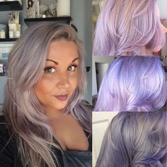 My new hair! Done by yours truly! Manic Panic Blue Steel w/ a lil Manic Panic Ultra Lavendar. Changes colors in different light. #manicpanic #bluesteel #ultraviolet #greyhair #greyhairdontcare #pastel #lavendar #lavendarhair