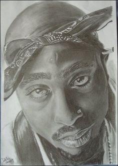 Beautiful Soul, Black Is Beautiful, Beautiful People, Awesome Art, Cool Art, 2pac Wallpaper, Tupac Art, Tupac Makaveli, Cartoon Photo