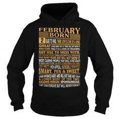 Cool February Born T shirts
