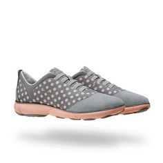 Shop Nebula women's sneakers in grey. Shop now at Geox.com. Free and easy…