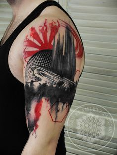 Trash polka tribal cover up by me, Logan Bramlett Wanderlust Tattoo Society Akron Ohio