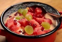 Menu Planning, Fruit Salad, Oatmeal, Food And Drink, Favorite Recipes, Meals, Breakfast, Cookies, Drinks