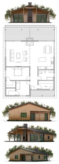 Home Plan, House Plans, Floor Plans, Best House Plans, Small House Plans, House Floor Plans, Architecture Design, Cottage Plan, Modern Farmhouse Plans, Prefab Homes, Little Houses, Planer
