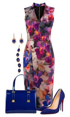 """""""Untitled #1221"""" by earthlyangel ❤ liked on Polyvore featuring Oasis, Ted Baker, Gemvara and Gurhan"""