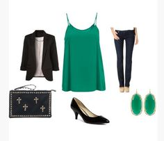 Love - but not emerald.  And I don't wear jeans in the summer - they are too hot.