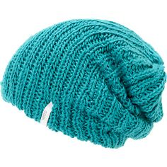 Add a splash of color to any outfit with the soft Coal girls Thrift turquoise knit beanie. Instantly warm up your head with the thick knit all-acrylic construction, turquoise colorway, and a white Coal brand tag embroidered on the hem for added style.