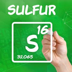 Sulfur is abundant in original form and it is very essential. The innumerable uses of sulfur make it an important and valuable element. Periodic Table Of The Elements, Cell Regeneration, Thyroid, Take Care Of Yourself, Health And Wellness, Medicine, Knowledge, Education